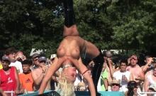 Hot girls like to dance naked