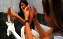 Pov Girls Massage Their Own Feet