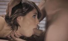 Professor Mick rammed Adriana's butthole hard and deep