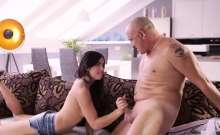 Daddy training and sex party with old college companions Rou