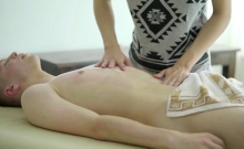 Shaved Twinks Bareback With Facial Cum