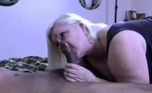Interracial Hardcore Sex For Horny Granny