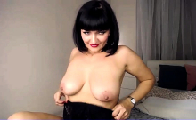 Beautiful Brunette With Big Boobs Jerk Off Instrucions