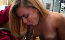 Slut is banged rough by horny director