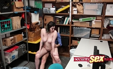 Chick With Big Tits Pounded Roughly