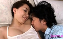 Oriental mother i'd like to fuck sucks and rides