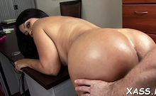 Striking busty brunette Cielo gets fucked nicely