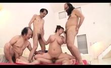 Foursome Sex Gangbang Group Sex Sexy Girls Fu