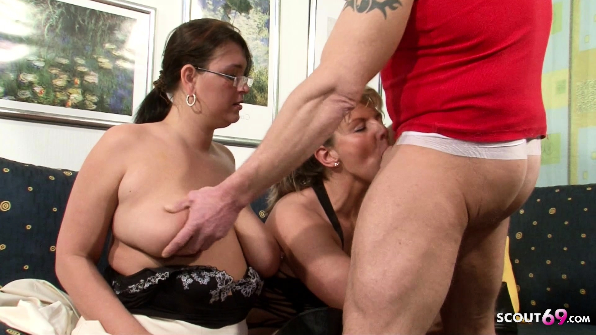 Fat Mature Milf Threesome