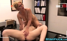Cute Lesbian Teenager Gets Rubbed