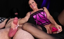 Have you ever had your cock jerked by the worlds horniest
