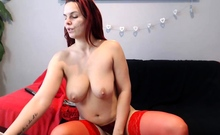 Sexy MILF Angelina Show Her Big Boobs And Fuc