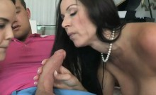 Van Wilde's hard cock got licked and got sucked as cum out