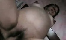 Latin Girlfriend Showering And Fucking